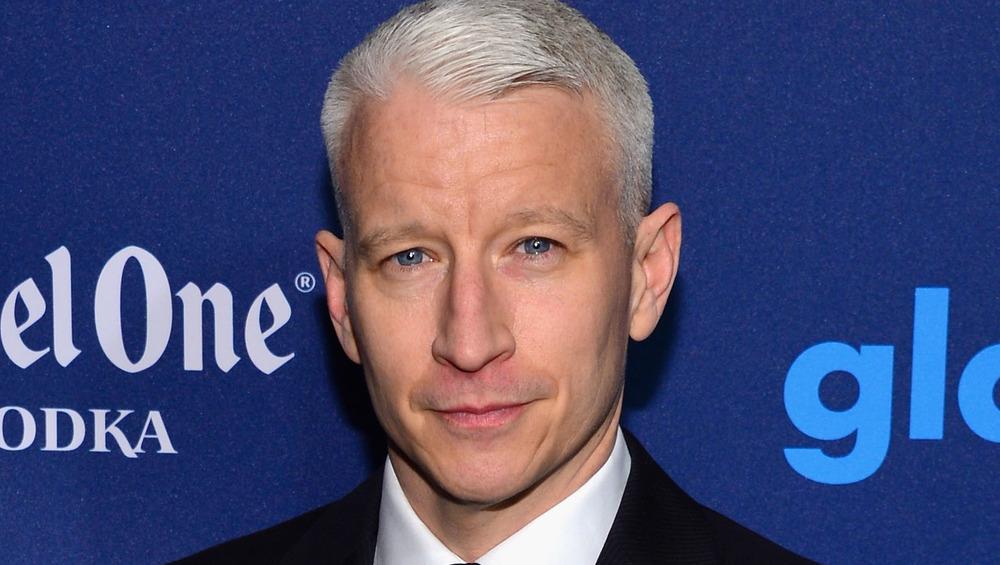 Anderson Cooper en la ceremonia de premios