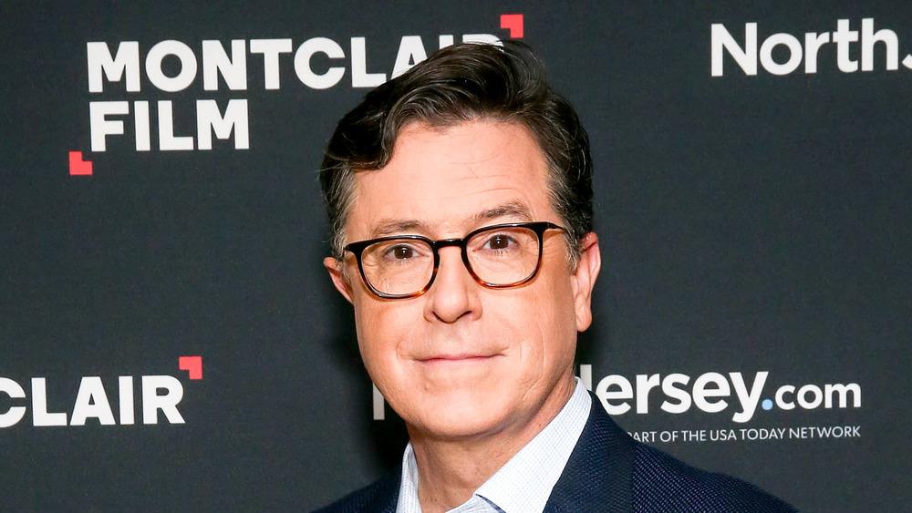 Stephen Colbert en un evento