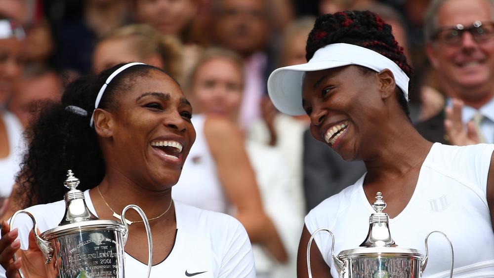 Serena Williams y Venus Williams en Wimbledon