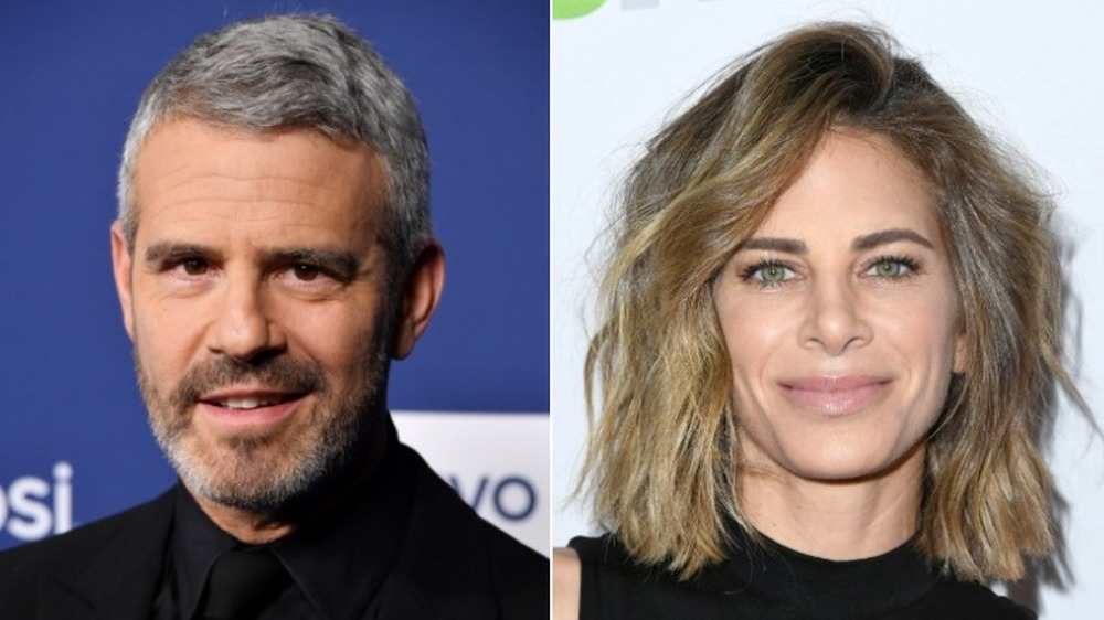 Andy Cohen y Jillian Michaels sonriendo