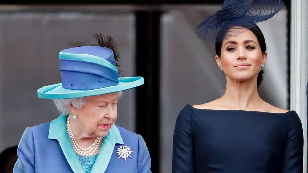Meghan Markle y la reina Isabel dispararon desde un evento