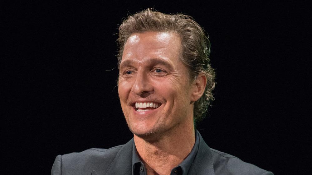 Matthew McConaughey sonriendo