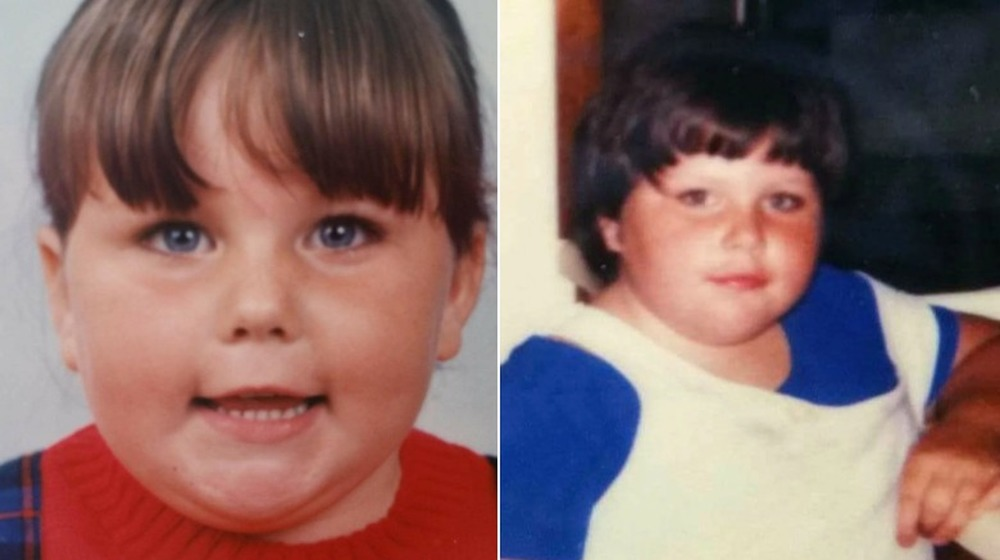 Chrissy Metz en fotos de la infancia