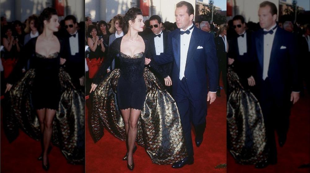 Bruce Willis y Demi Moore en los Oscar