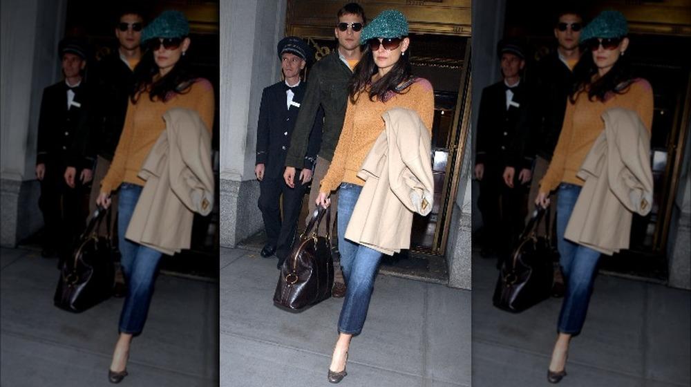 Ashton Kutcher y Demi Moore en Nueva York