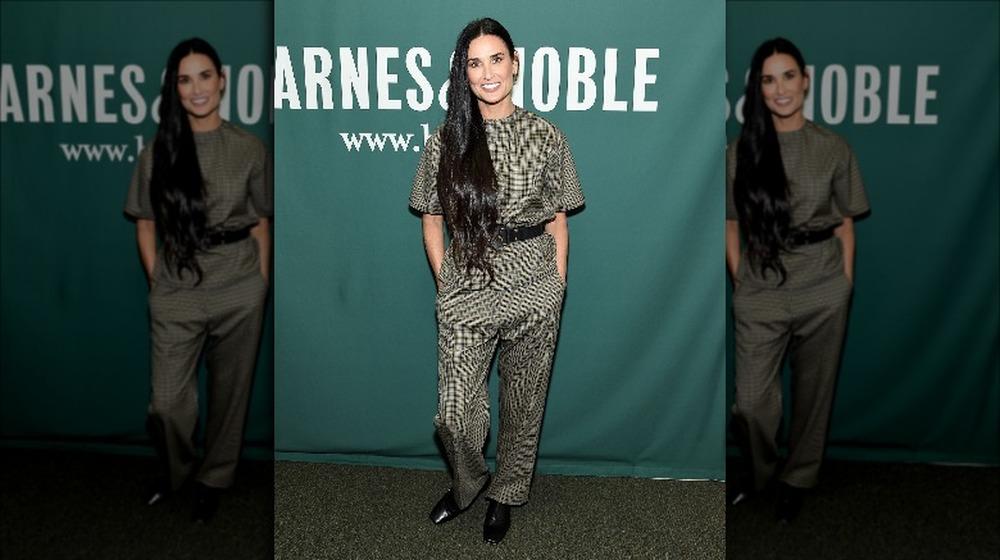 Demi Moore en un evento de libros de Barnes & Noble