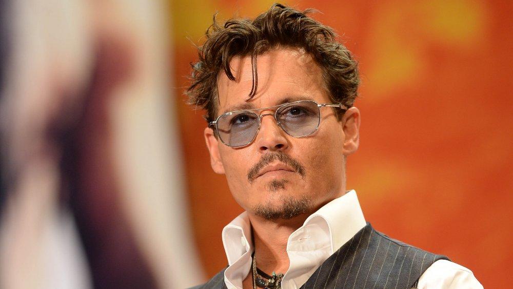 Johnny Depp en el estreno de Lone Ranger en 2013