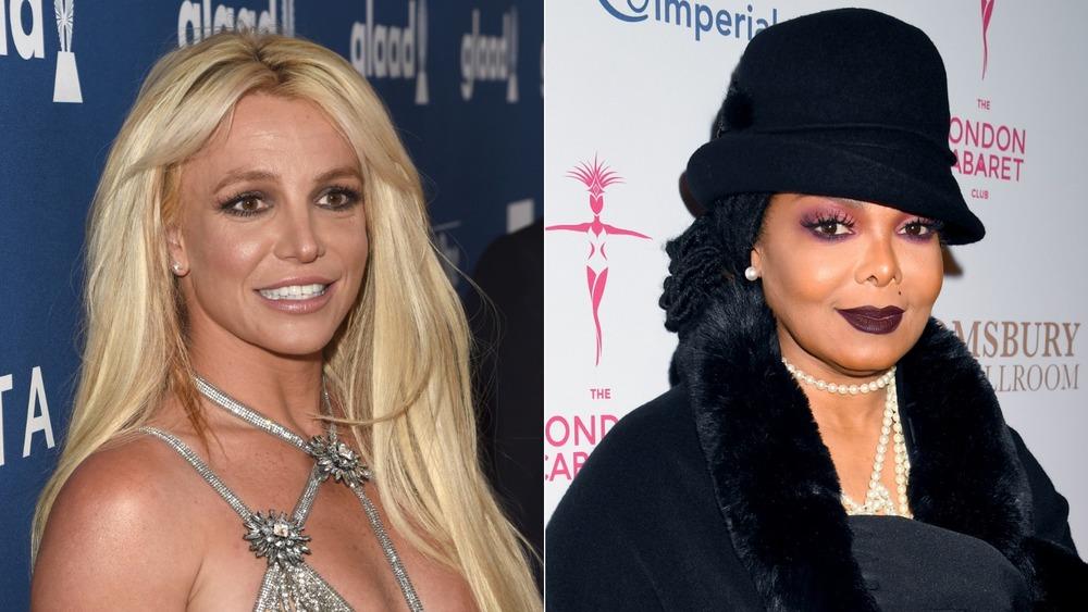 Britney Spears y Janet Jackson