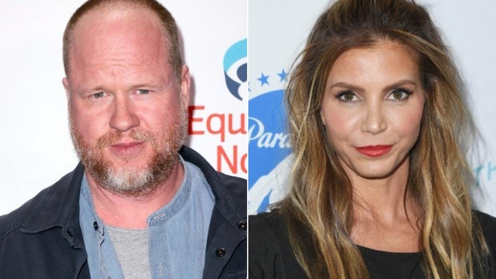 Joss Whedon y Charisma Carpenter lucen serios