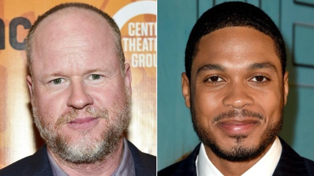 Joss Whedon y Ray Fisher sonriendo