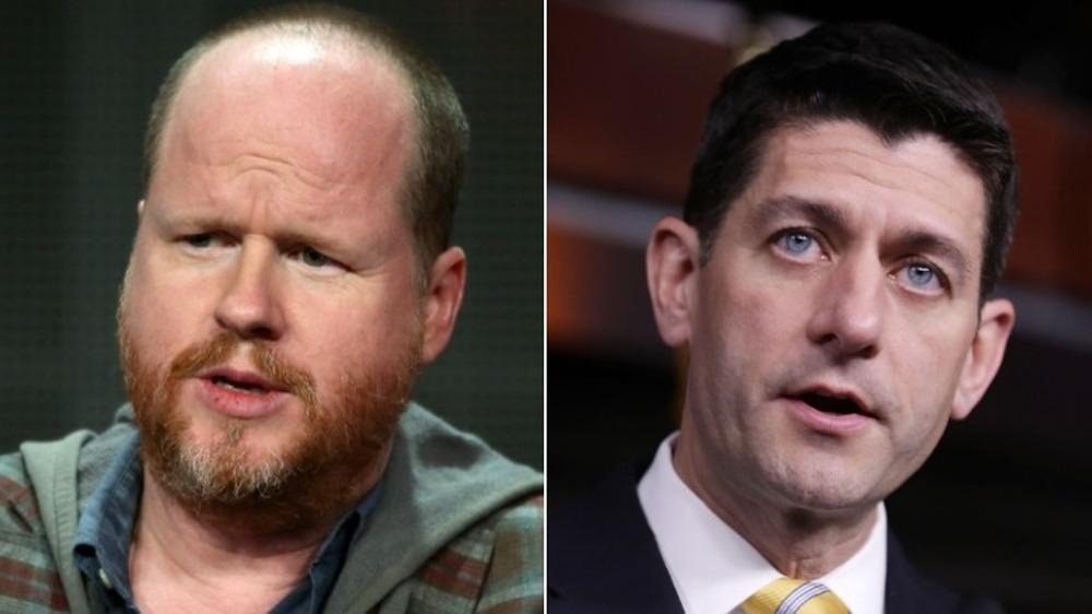 Joss Whedon y Paul Ryan hablando
