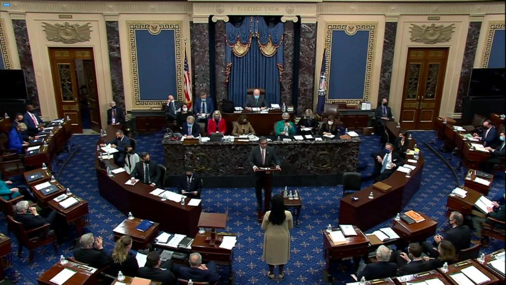 El Senado delibera sobre la acusación de Trump