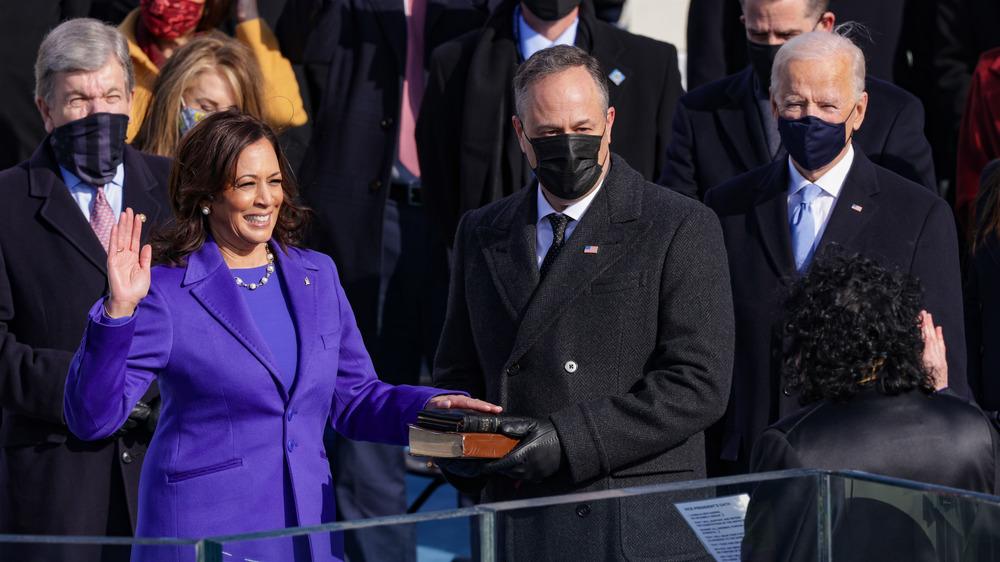 La vicepresidenta electa Kamala Harris prestará juramento el día de la inauguración