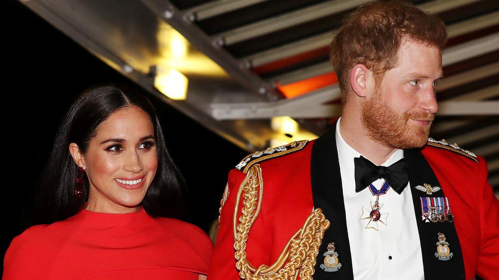 Meghan Markle y el príncipe Harry asistieron juntos a un evento