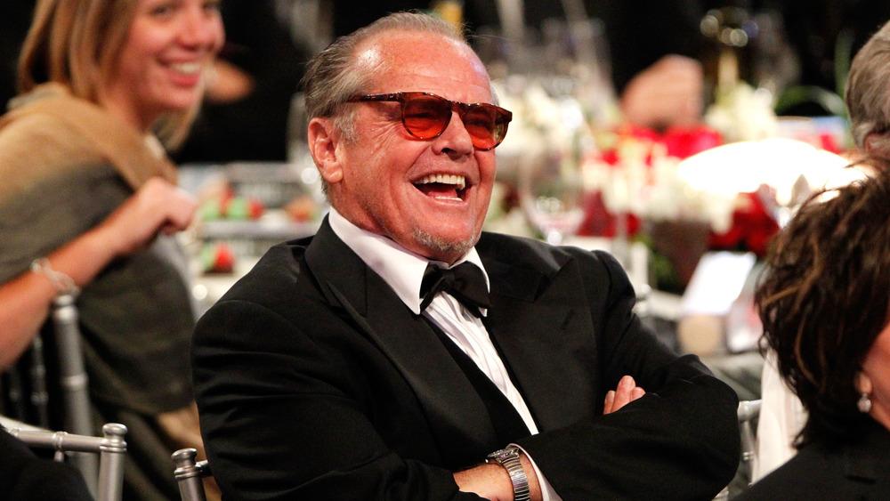 Jack Nicholson riendo