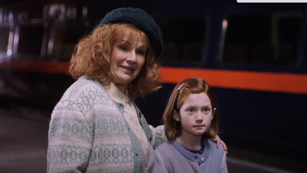 Julie Walters y Bonnie Wright