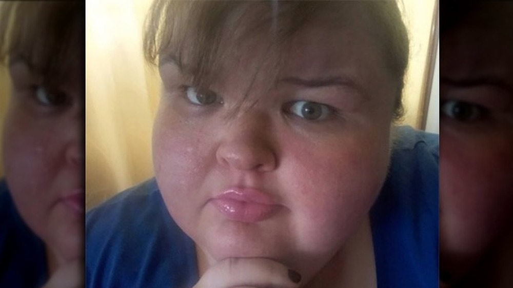 Tammy Slaton se hace una selfie