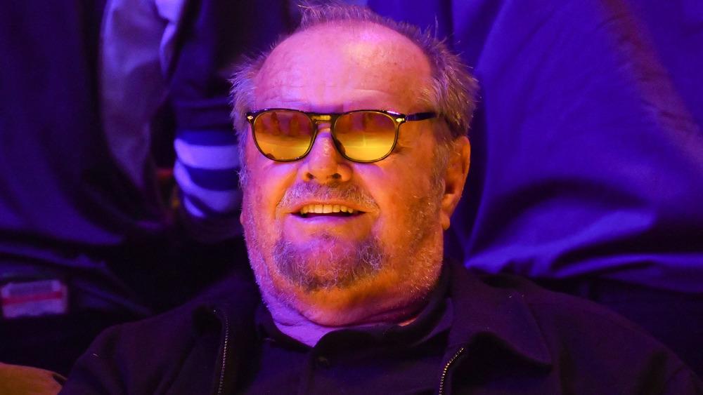 Jack Nicholson con gafas