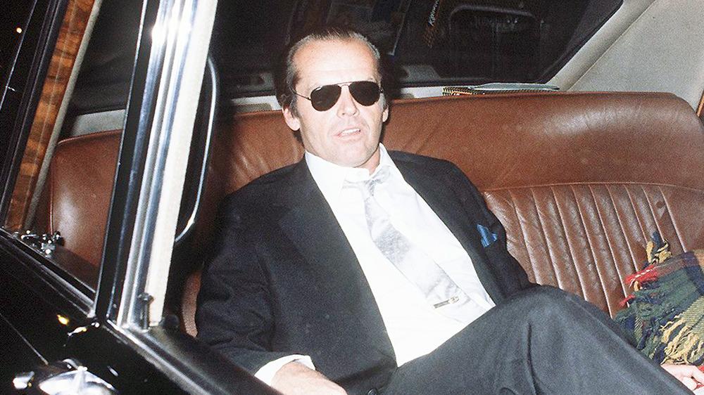 Jack Nicholson en coche