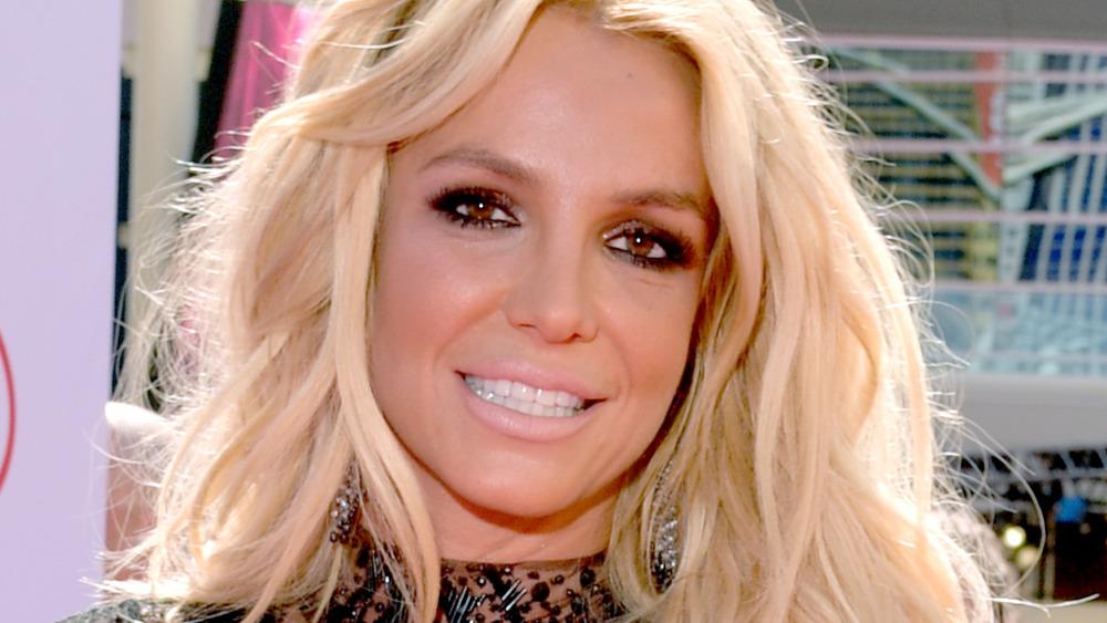 Britney Spears en la alfombra roja
