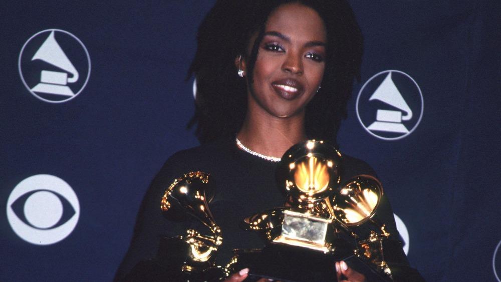 Lauryn Hill en la 41a entrega de los premios Grammy