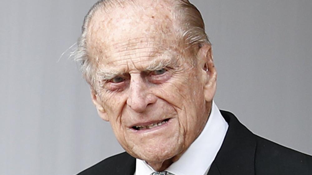 El príncipe Felipe asistió a la boda de la princesa Eugenia