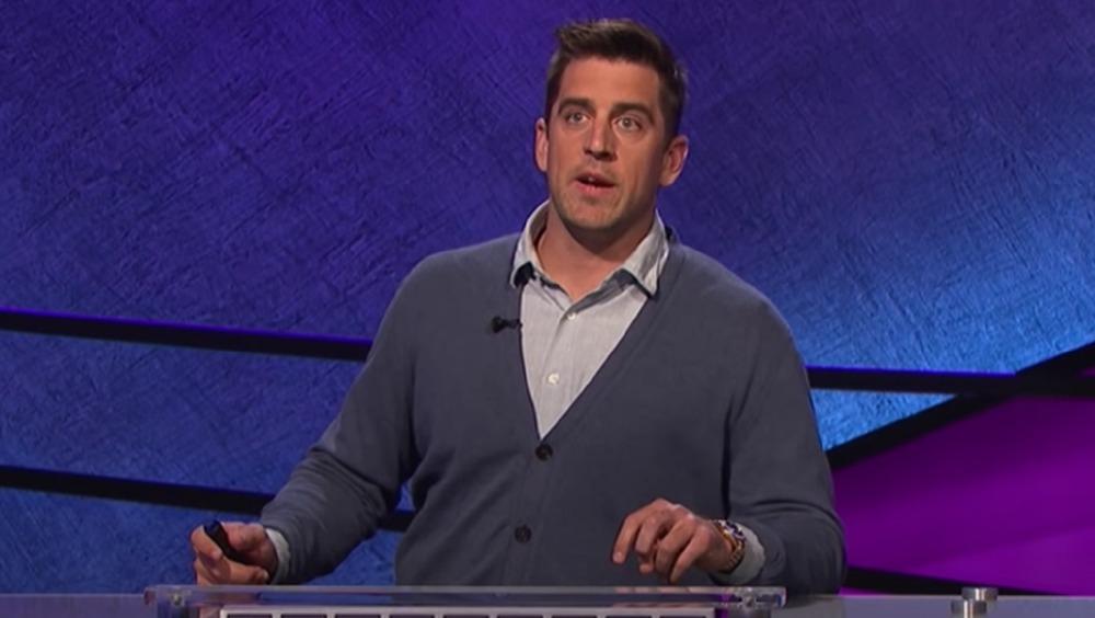 Aaron Rodgers sobre Celebrity Jeopardy!