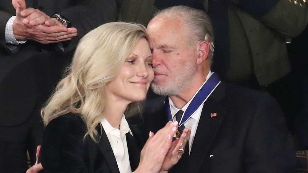 Rush Limbaugh y su esposa Kathryn