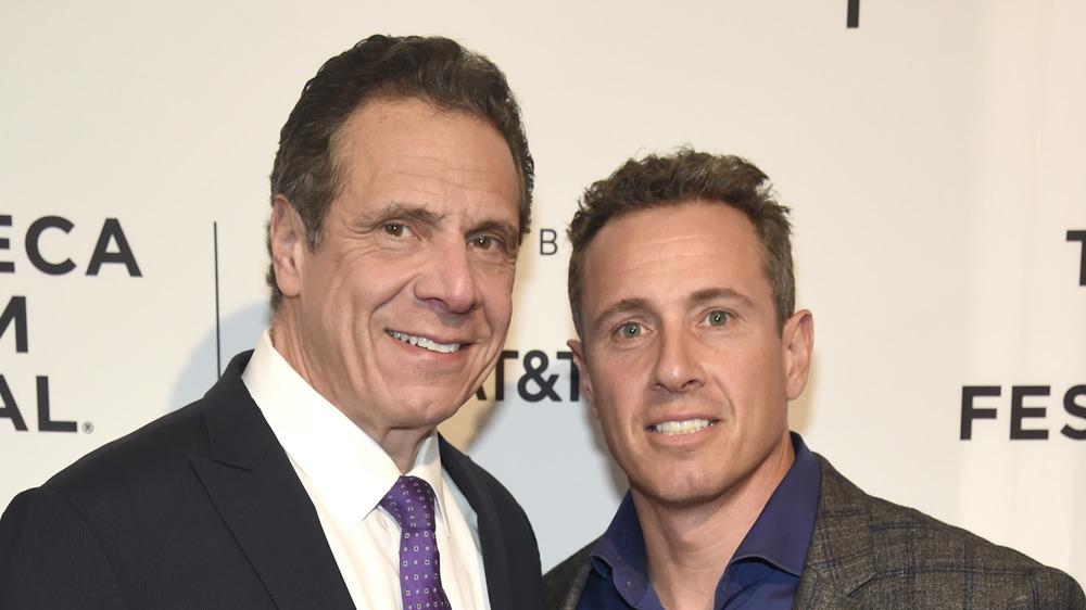 Andrew y Chris Cuomo en el Festival de Cine de Tribeca