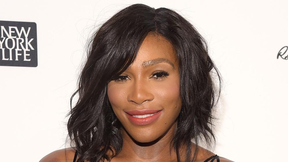 Serena Williams en la ceremonia de deportista del año de Sports Illustrated