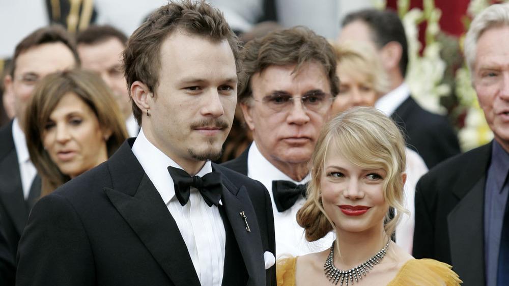 Heath Ledger y Michelle Williams en los Oscar