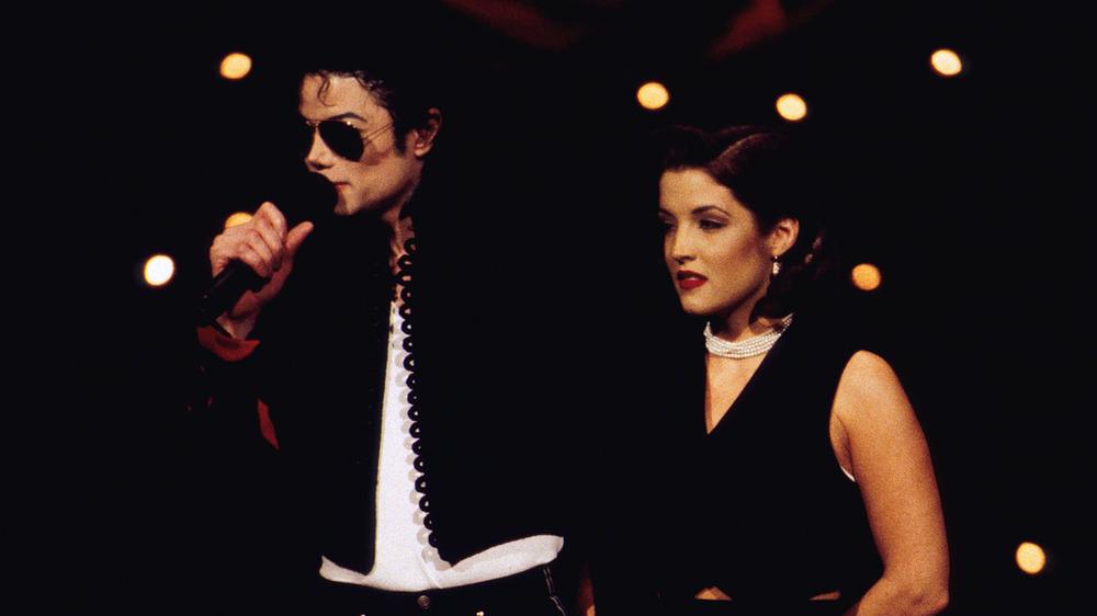 Michael Jackson con Lisa Marie Presley