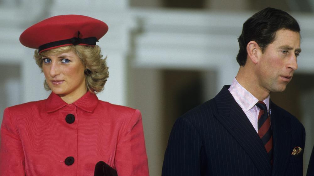 La princesa Diana y el príncipe Carlos juntos