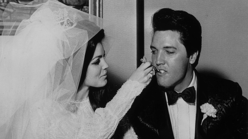La boda de Priscilla Presley y Elvis Presley