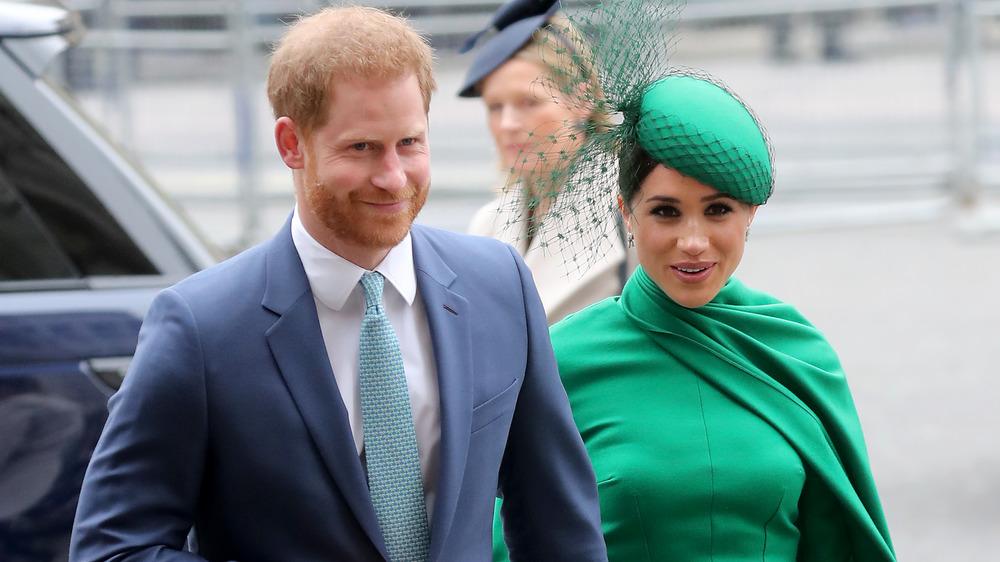El príncipe Harry y Meghan Markle asistieron a un evento real