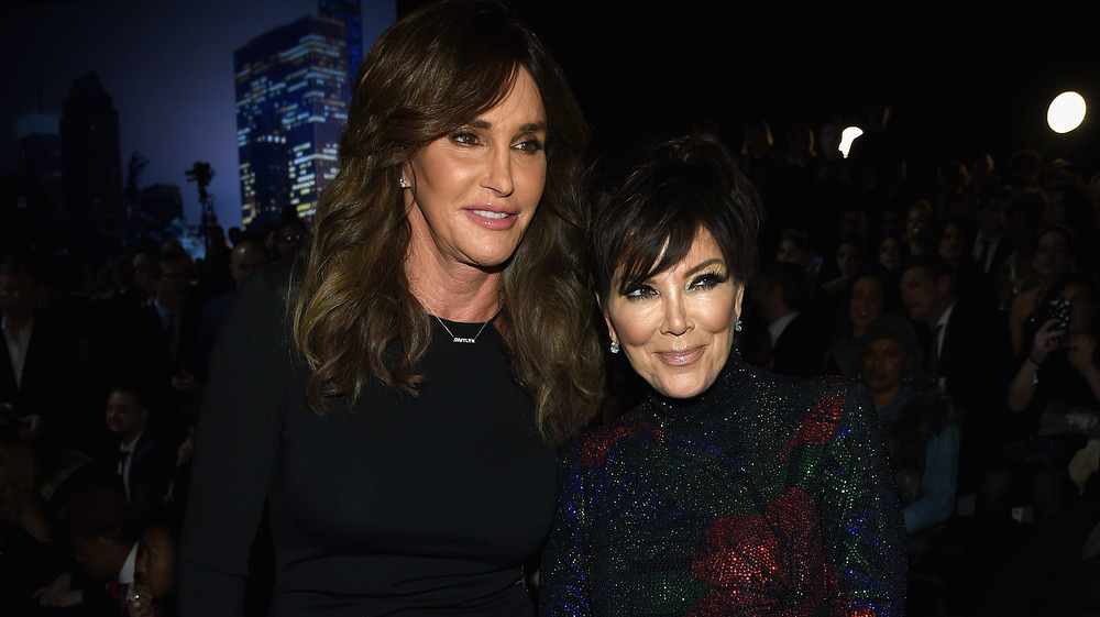 Kris Jenner con Caitlyn Jenner
