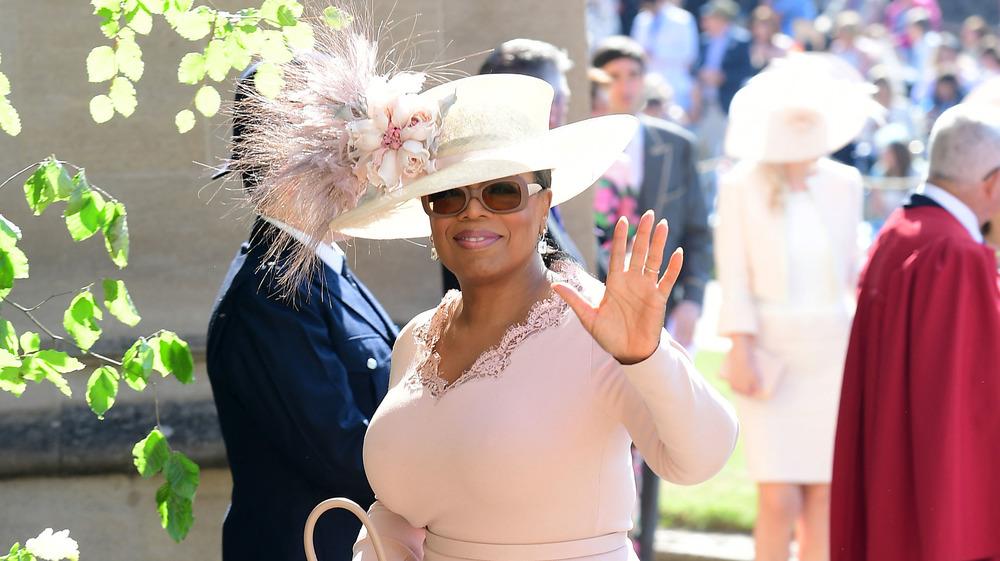 Oprah en la boda real