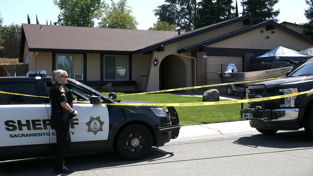 La casa de Joseph James DeAngelo después de su arresto