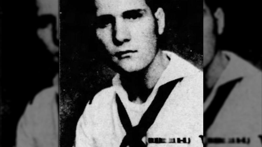 James DeAngelo durante el servicio de la Marina