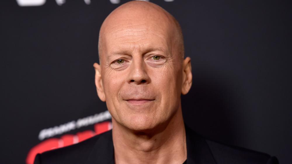 Bruce Willis en la alfombra roja