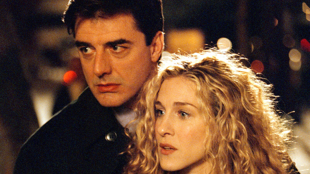 Carrie Bradshaw y Mr. Big en Sex & The City