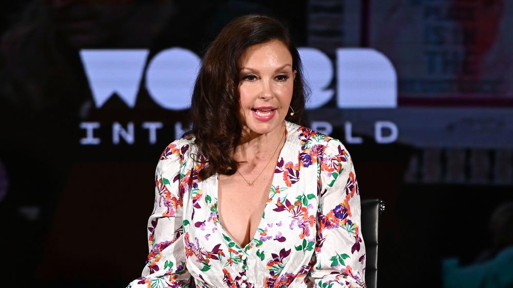 Ashley Judd habla en el Lincoln Center el 11 de abril de 2019 en la ciudad de Nueva York.