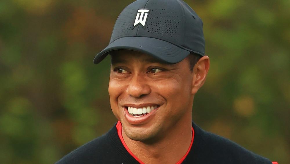 Vehículo de Tiger Woods después del accidente
