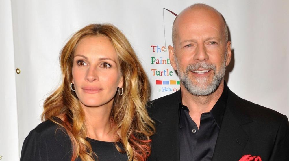 Bruce Willis amigos de Julia Roberts