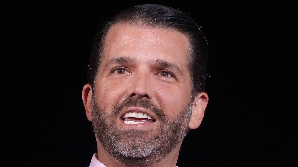 Donald Trump Jr. hablando