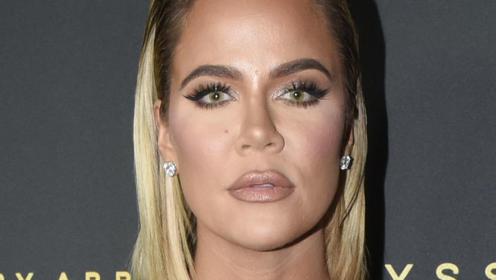 Khloe Kardashian en un evento