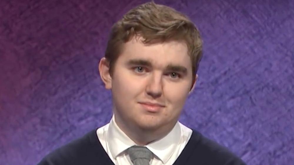 Brayden Smith compitiendo en Jeopardy!