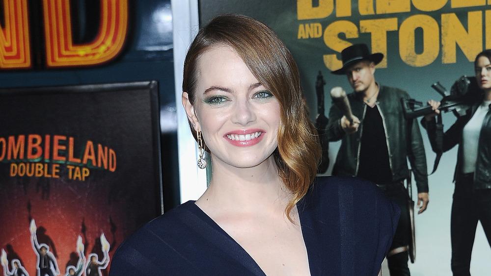 Emma Stone sonriendo