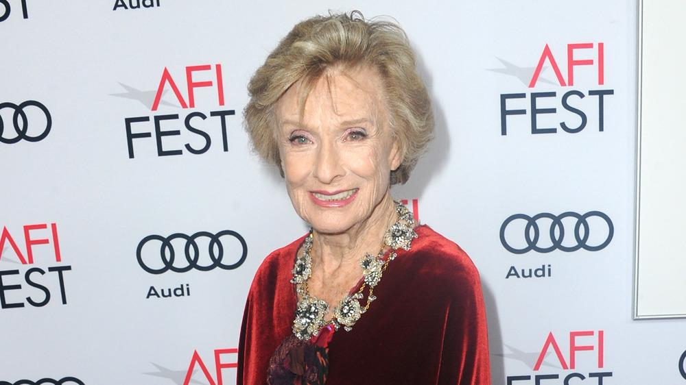 Cloris Leachman en la alfombra roja del AFI Fest