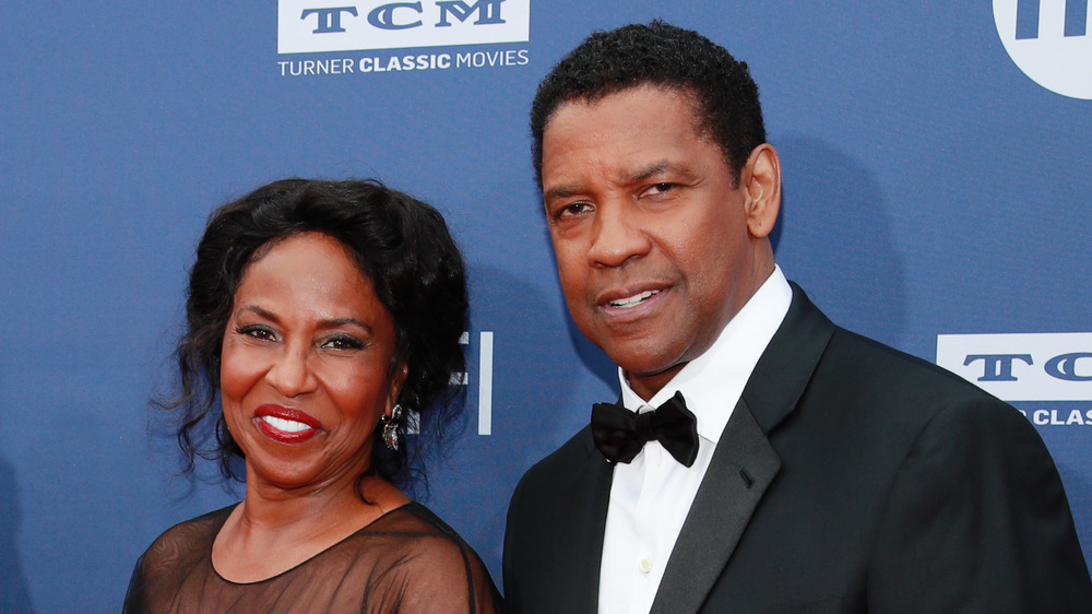 Denzel Washington y su esposa Pauletta Washington